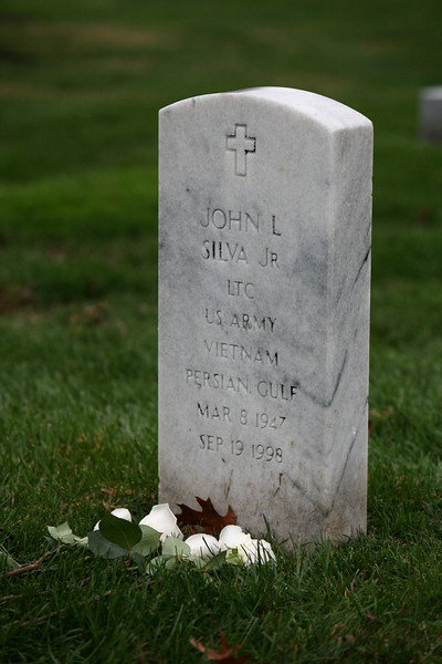 Funeral of Lt. Col. John L. Silva at Arlington