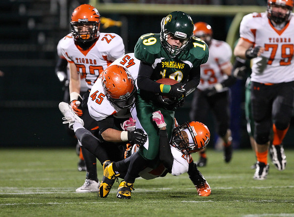 Union-Endicott Tigers v. Williamsville North Spartans (States) 11-22-13