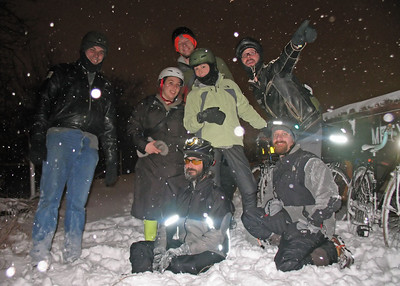 Snow Ride December 2008