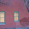 Red Brick in Glass