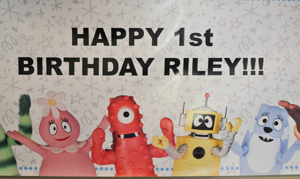 Rileys 1st Bday Celebration