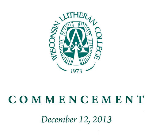 WLC Fall 2013 Commencement Info