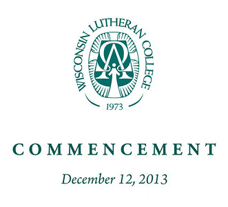 WLC 2013 Fall Commencement