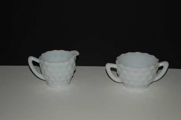White Glass items
