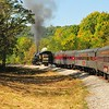 Rounding the Bend - Western Maryland Scenic Railroad Cumberland, MD