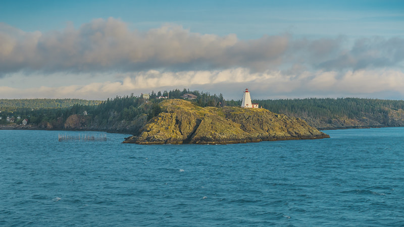 Photo of the Lighthouse on Grand Manan Island in New Brunswick, Canada