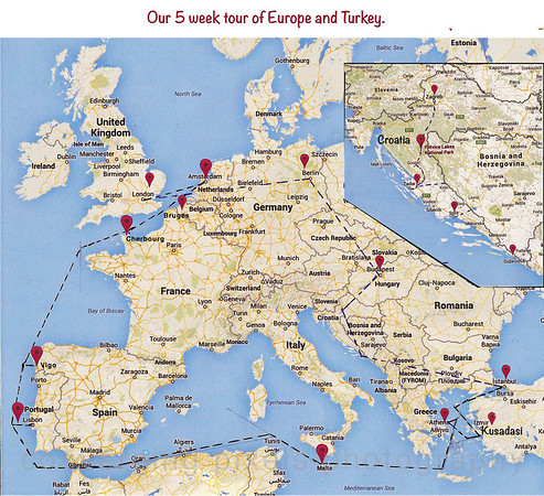Europe and Turkey 2014