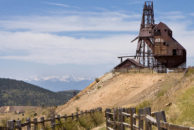 Ghost Towns and Old Mines of the West