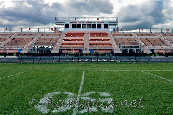 Home of the Charlotte (MI) High School, Orioles football and track and field teams. Fall 2010.
