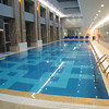 25-meter pool (second floor) at the Hilton Beijing Capital Airport (China).