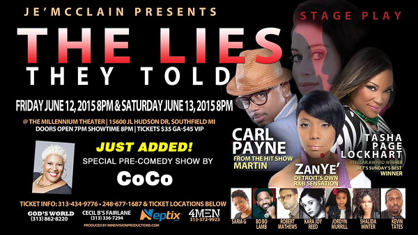 The Stage Play The Lies They Told 6-12-15 Friday