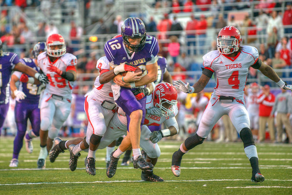 UNA Football vs. West Alabama 2013