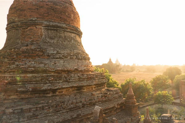 Postcards - South Bagan, Bagan, Myanmar