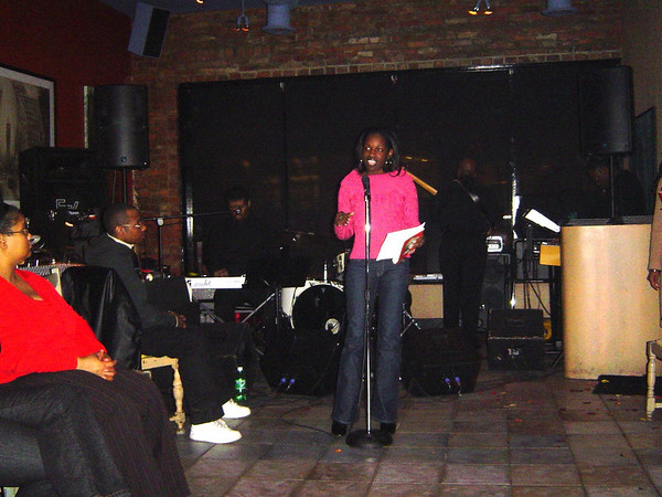 Carita's Book Launch - February 11, 2005