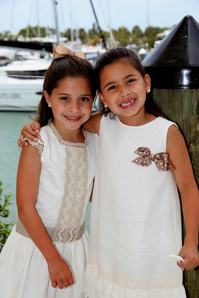 Chloe and Samantha's First Communion