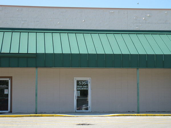 New location of Greene County Archives