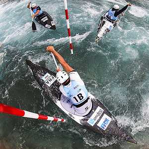 ICF Canoe Kayak Slalom World Cup London 2014