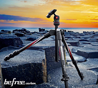 Best Entry Level Travel Tripod: Manfrotto BeFree Travel Tripod