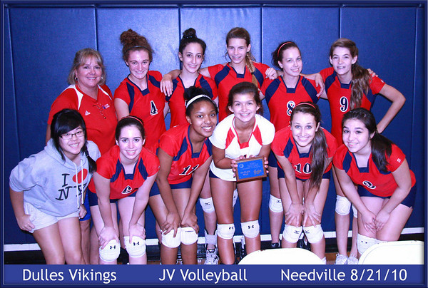 Dulles volleyball 2010