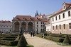 Wallenstein Garden below Prague Castle