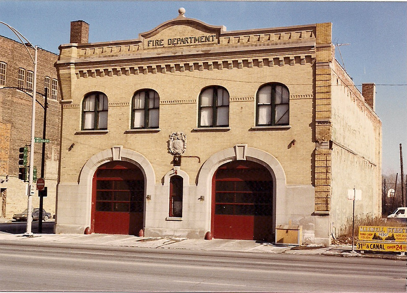 Chicago Firehouses  M.A.B.A.S. Division 9. Past and Present