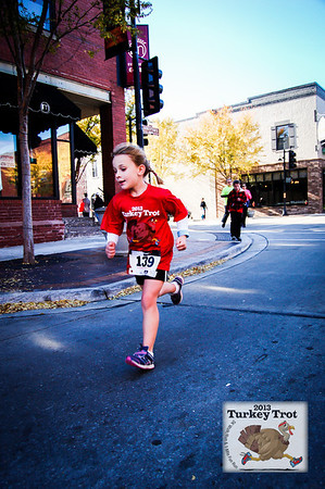 Turkey Trot 5K Run/Walk & One Mile Fun Run - 2013
