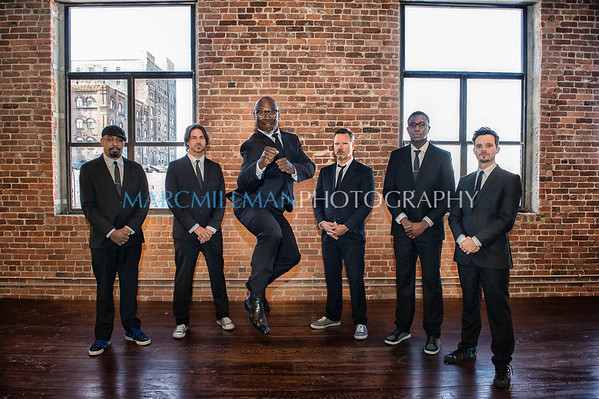 Karl Denson's Tiny Universe photo shoot (Fri 1/24/14)