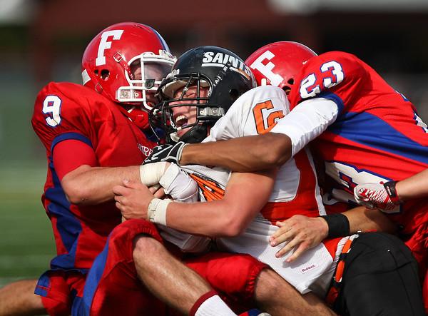 Fairport Red Raiders v. Churchville-Chili-Saints 9-24-11