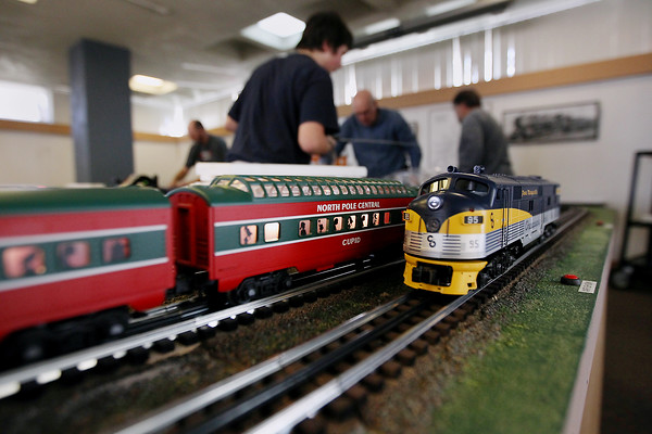 2011 Festival of Trains setup