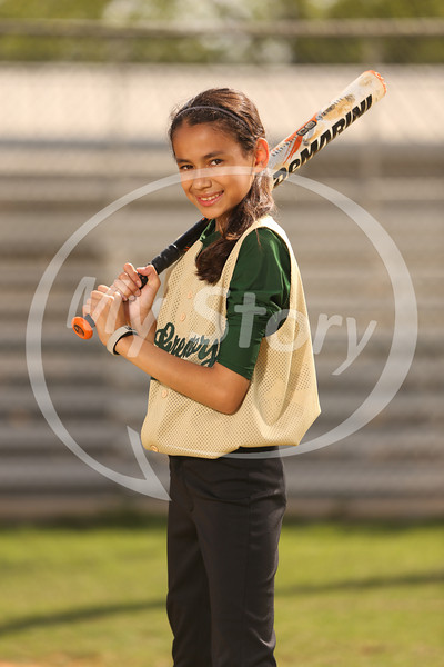 St Gregory Softball Portraits 2013