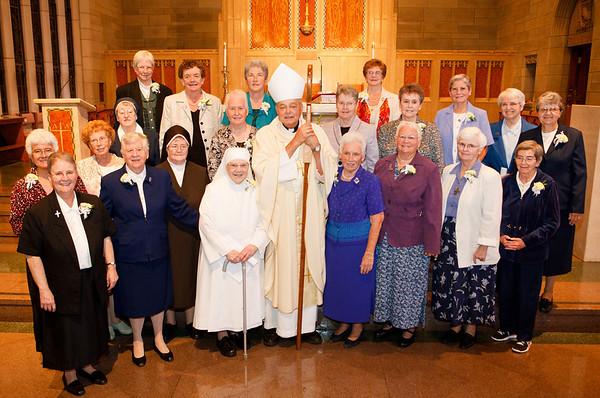 Women Religious Julbilarians