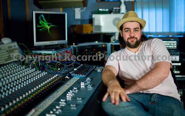 Phil English at Alexander Sound Recording Studios UK