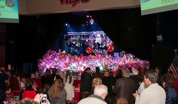 Salvation Army Toy Drive at Viejas