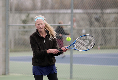Tennis: TC Christian vs Manistee, April 10, 2012