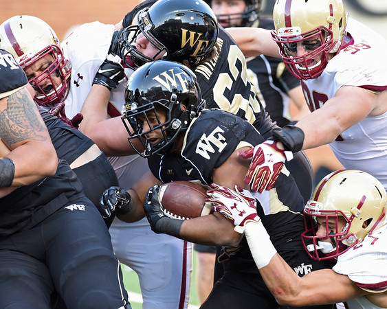 Deacs 17 Boston College 23