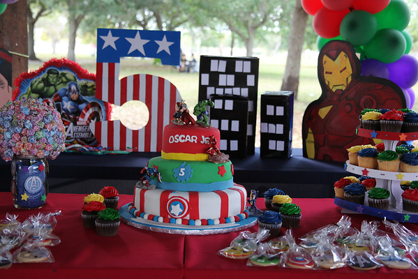 Oscar Jr's 5th Birthday Party