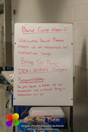 Band Camp 2013 - Day 1