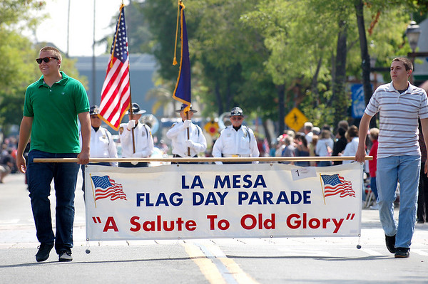 La Mesa Flag Day Parade 2008