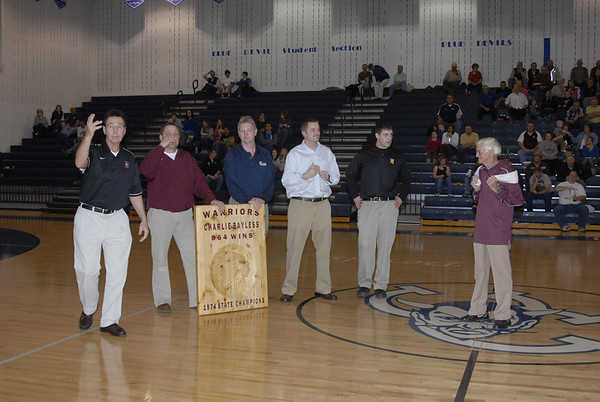 Coaches Honor Bayless