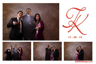 Tommy + Kathleen Wedding Photobooth (11/30/2013)