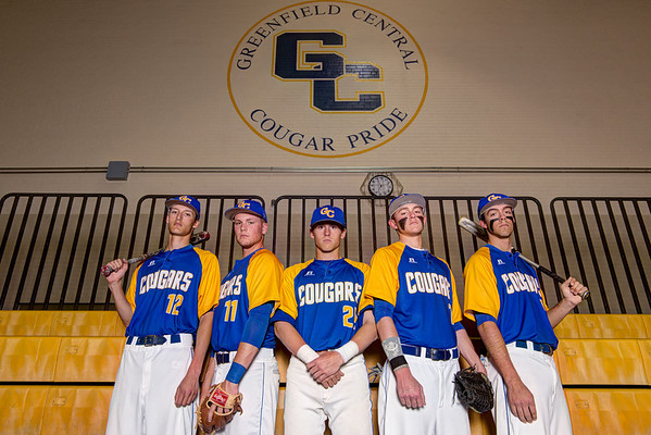 Greenfield Central Baseball Seniors