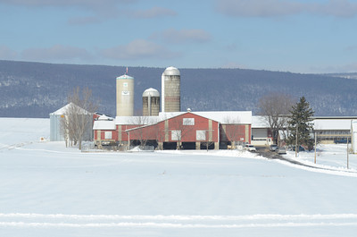 Red Barns on Route 45