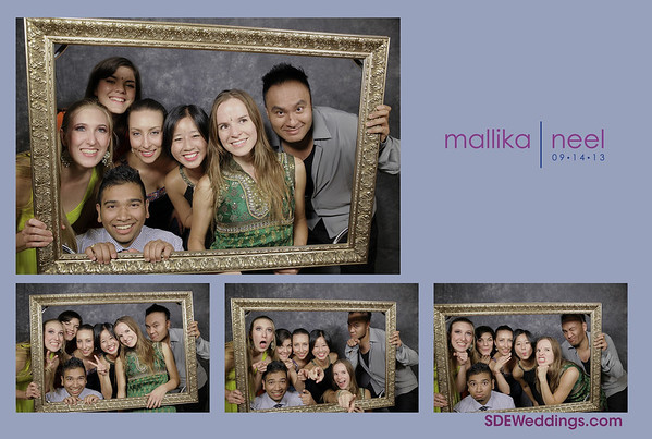 Neel + Mallika Wedding Photobooth (09/14/2013)