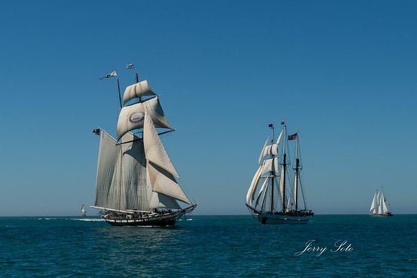 August 28, 2014 Tall Ship arrival to San Diego's festival