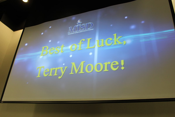 2015 Retirement Reception for Terry Moore