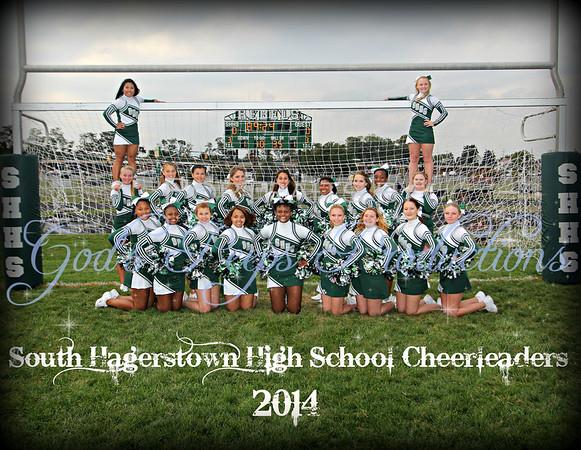 South Hagerstown Cheerleaders 2014