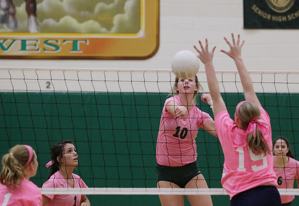 Volleyball: TCW vs Petoskey, Oct. 15, 2012