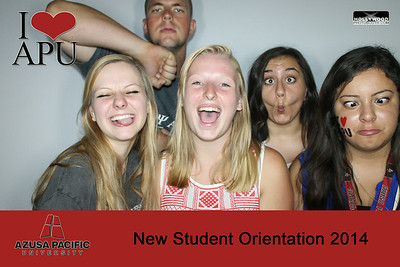 APU's New Student Orientation2014 (Photo Booth)