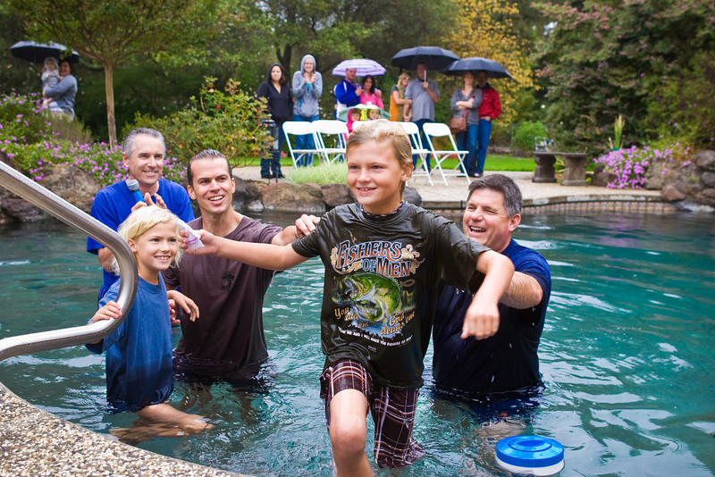 Fall Baptism - Oct 17th 2010
