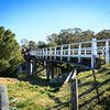 Clarence Town, NSW, Australia<br /> Bridge over Williams River, built 1880.
